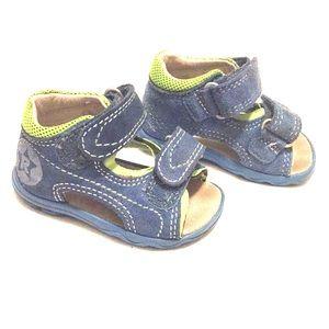 Richter baby boy blue summer shoes, sandal